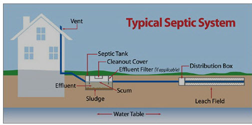 Septic Illustration Image 2 - Septic System Definitions