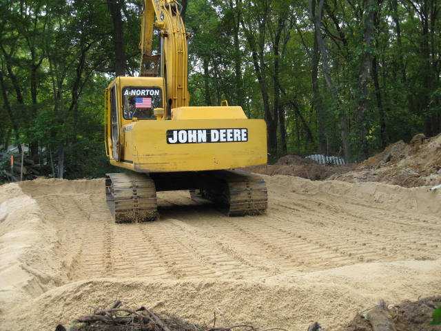 John Deer Image - Premium Sand in Zone of Treatment